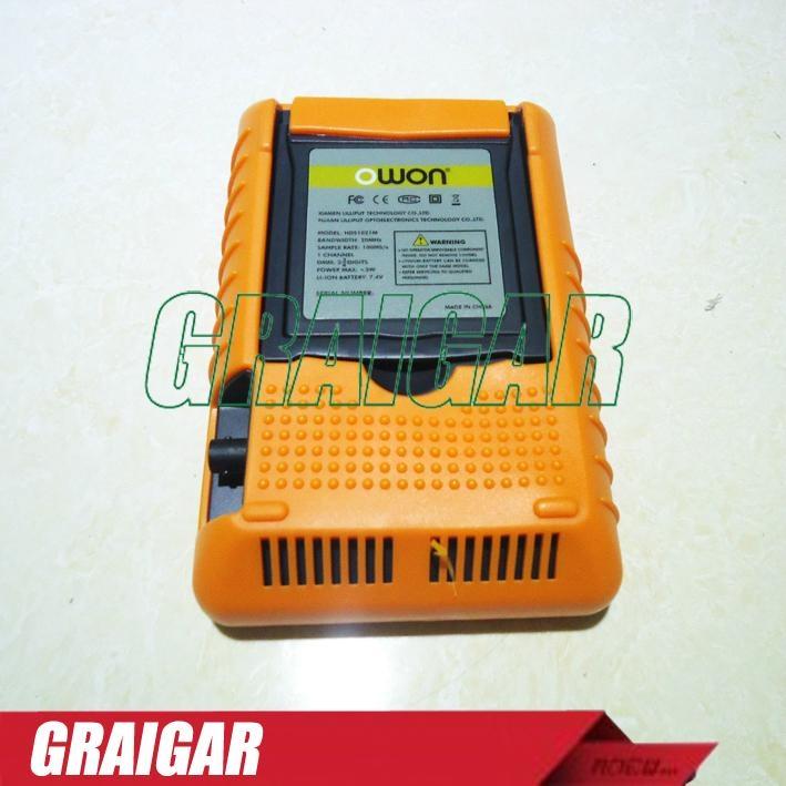 HDS1021M 20MHz 100MS/s 2 Channels Multimeter Mini Handheld Digital Oscilloscope 4