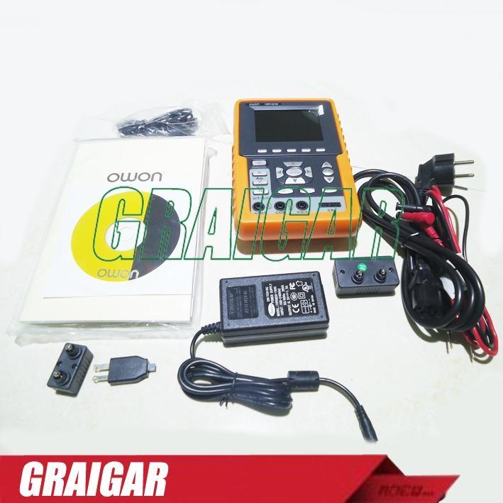HDS1021M 20MHz 100MS/s 2 Channels Multimeter Mini Handheld Digital Oscilloscope 2