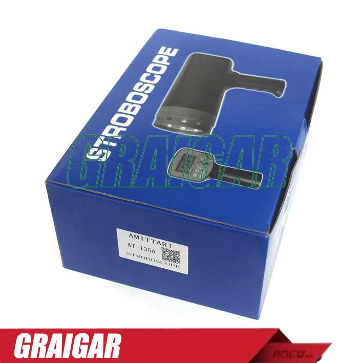 AT-135A Rechargeable Digital Stroboscope For Rotative Velocity 2