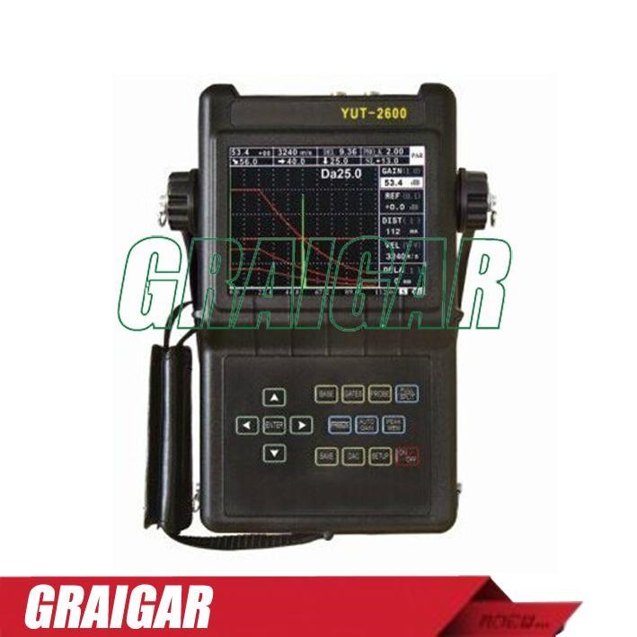 YUT2600 Portable Digital Ultrasonic Flaw Detector 2