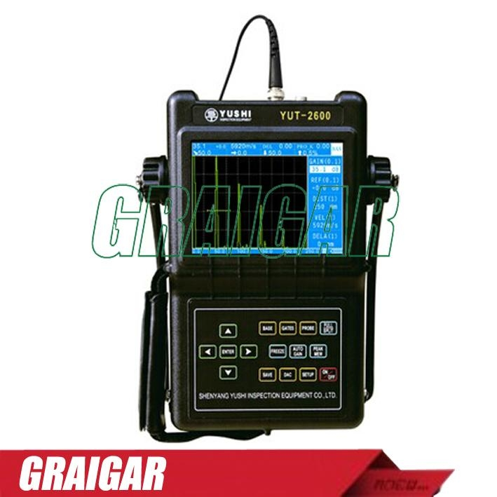 YUT2600 Portable Digital Ultrasonic Flaw Detector 1