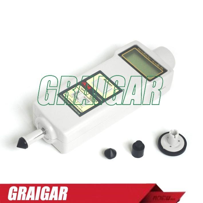 AT-136PC Digital Hand Held Tachometer For Rotative Velocity 2