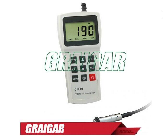 Coating thickness meter tester gauge CM10F 1