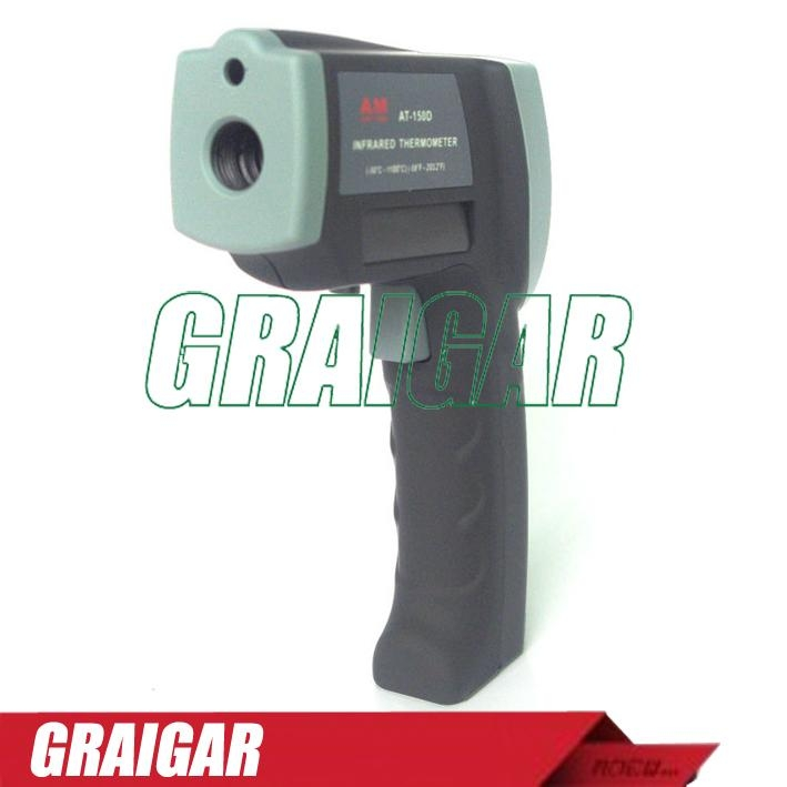 Infrared Thermometer Tester Meter Gauge AT-150D