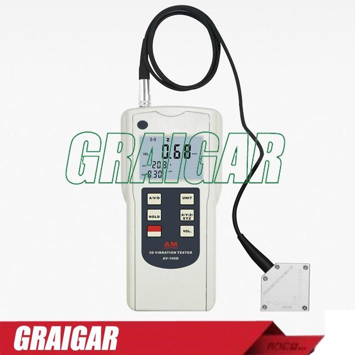 Portable Handheld Vibration Tester For Moving Mechanical Imbalances AV-160D 1