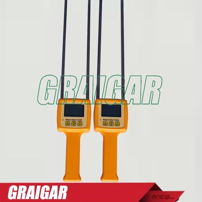 Portable Digital LCD Grain Moisture Meter TK100S