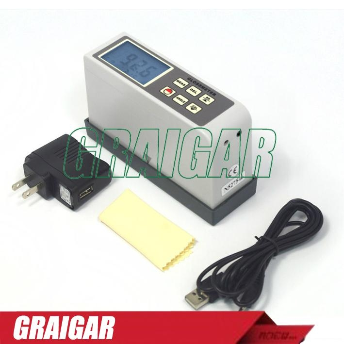 20 Degree Portable Gloss Meter For Non-Metallic Materials Surface AG-126B 2