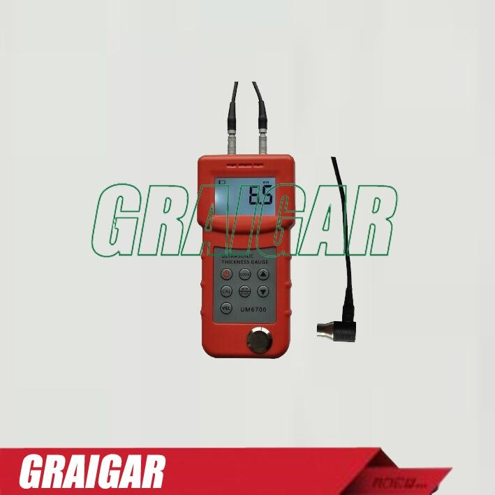 UM6700 Ultrasonic Thickness Gauge Meter Tester 1.0-280mm,0.05-11.8inch  1