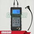 UM6500 Portable Digital Ultrasonic Thickness Gauge Meter 1.0-245mm,0.05-8inch