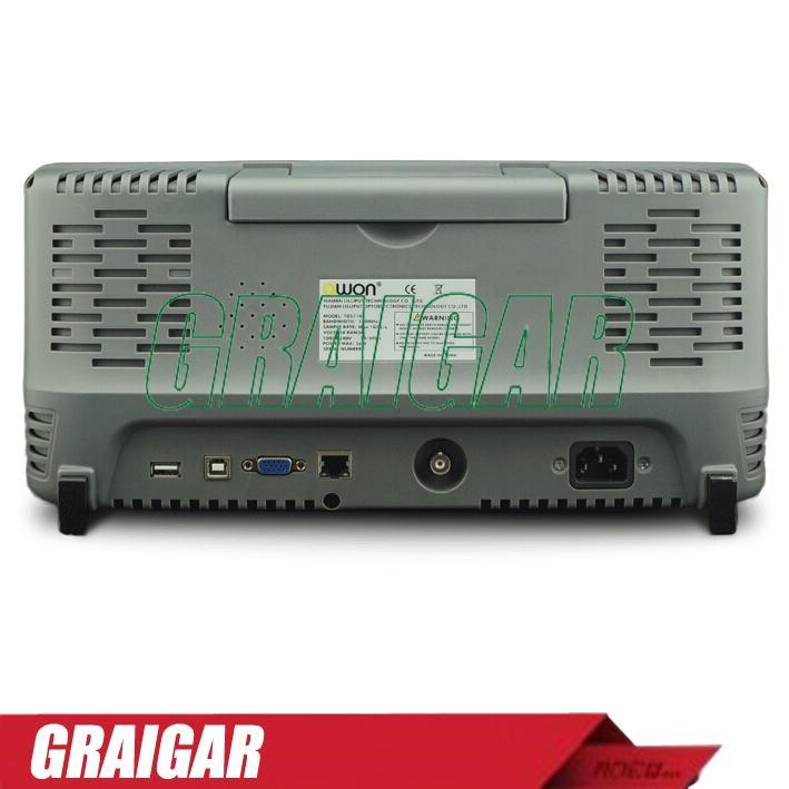 OWON TDS Series digital  TDS7104  oscilloscope touch screen 100Mz~200Mz 1~2Gs/s 1