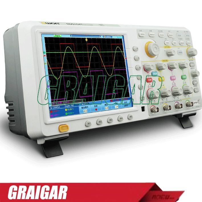 OWON TDS Series digital  TDS7104  oscilloscope touch screen 100Mz~200Mz 1~2Gs/s 3