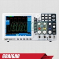 Owon New Digital Storage Oscilloscope SDS5032E 30MHz 250MS/s 8'' LCD