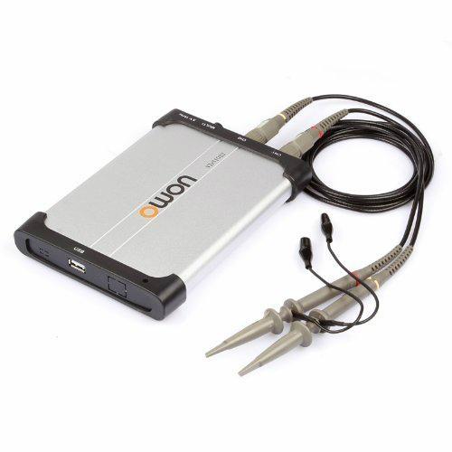 OWON VDS2062 USB Oszilloskop 2x 60 MHz 500MS/s Scope Oszi virtual oscilloscope 3
