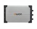 OWON VDS2062 USB Oszilloskop 2x 60 MHz 500MS/s Scope Oszi virtual oscilloscope 5