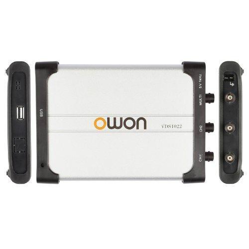 OWON VDS2064 USB Oscilloscope 4x 60 MHz 500MS/s 3
