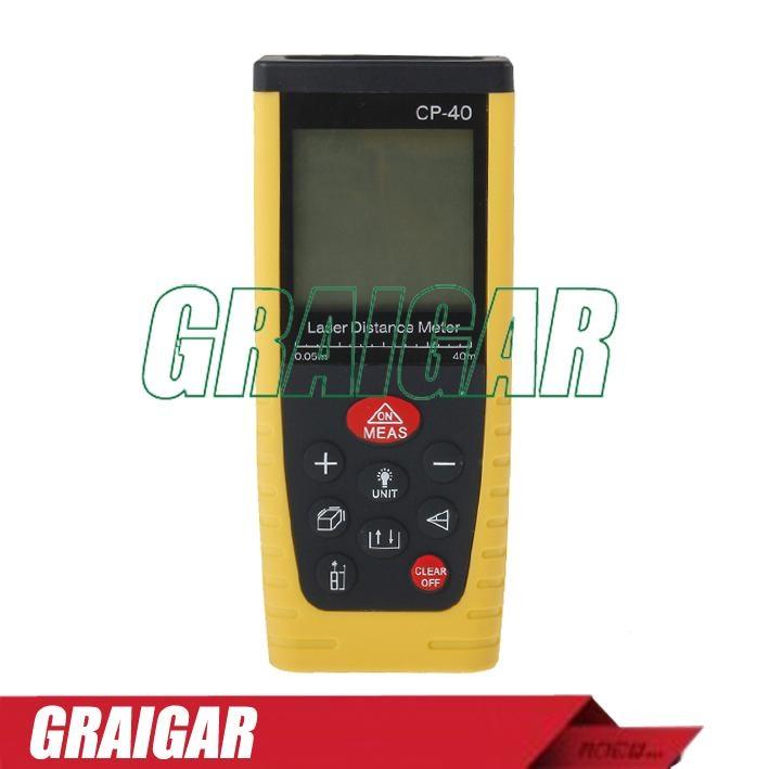 40m Laser Distance Meter Rangefinder Tape Measure Tool Range Finder CP-401 2