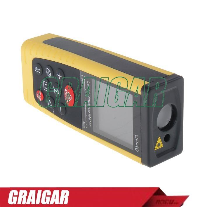 40m Laser Distance Meter Rangefinder Tape Measure Tool Range Finder CP-401 3