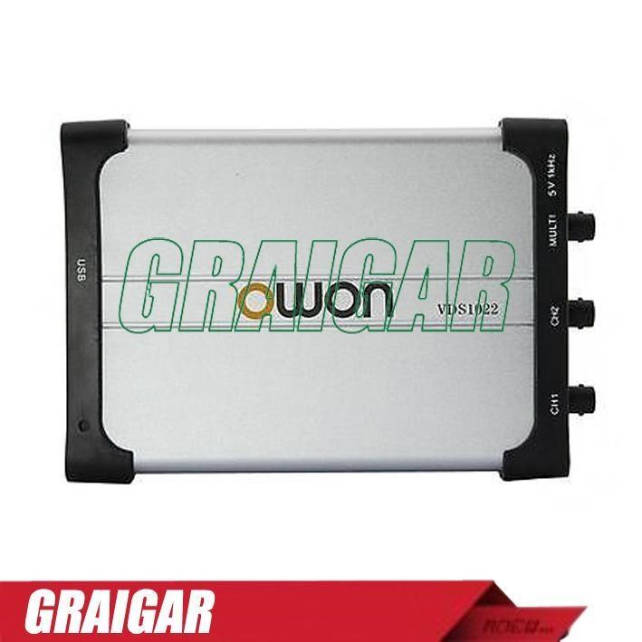 OWON VDS1022 USB PC Oscilloscope 25MHz 100MS/s Scope 1