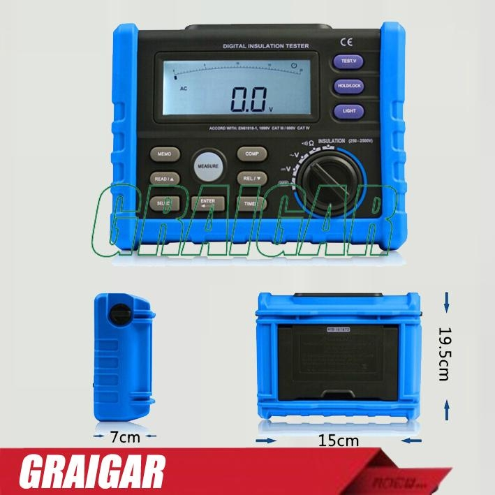 AER01 DIGITAL EARTH RESISTANCE TESTER 3