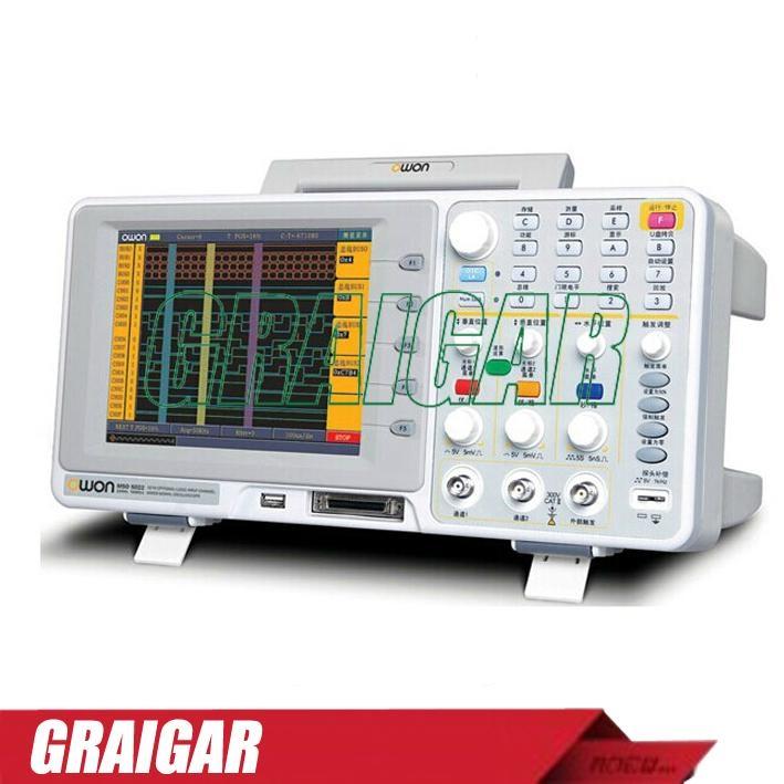 OWON MSO7062TD digital oscilloscope  2+1   LA - 16 60MHz   LA - 100MHz 1GS/s   L 1
