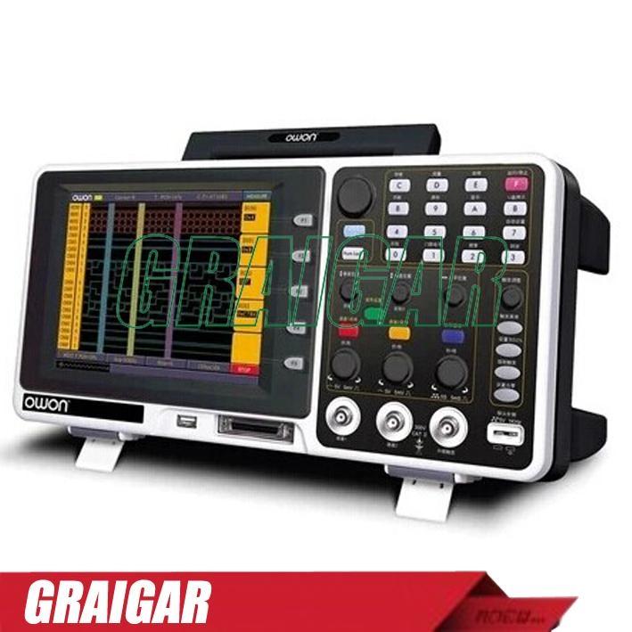 OWON MSO8202T  digital oscilloscope  2+1 | LA - 16 200MHz 2GS/s 4