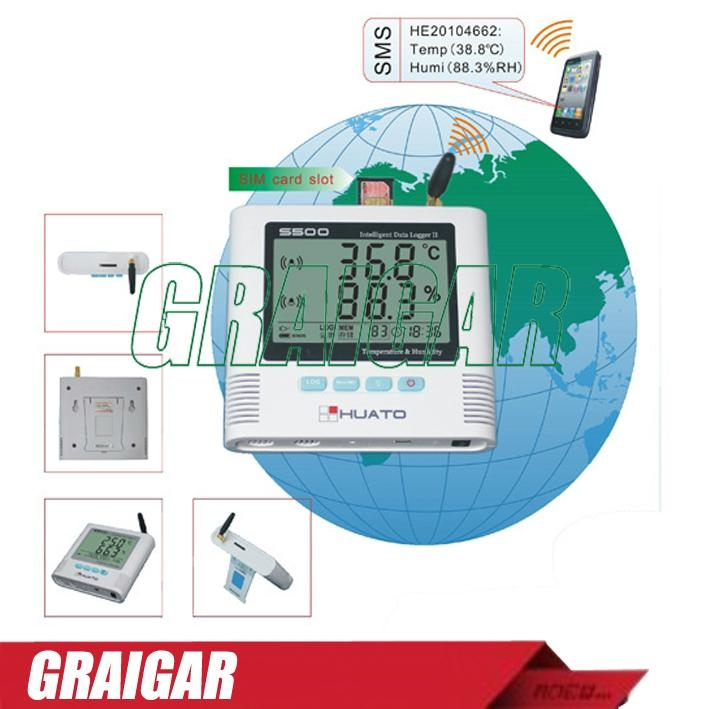 S500-EX Temperature and Humidity Data Logger with external probe 1