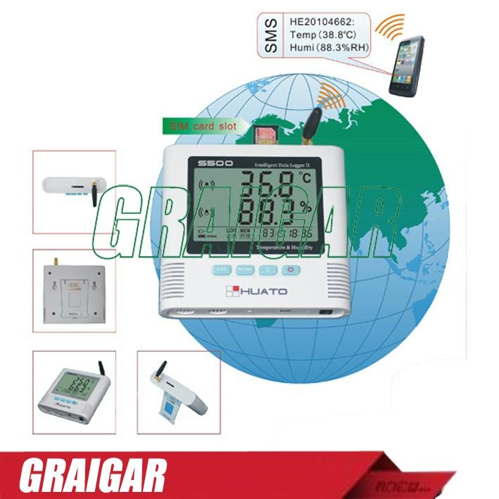 S500-DT GSM alarm tempreture and humidity data logger 1
