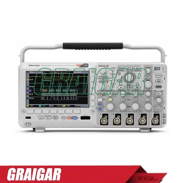 MSO4034 Digital Oscilloscope 350MHz 4 ,16 digital channels 1