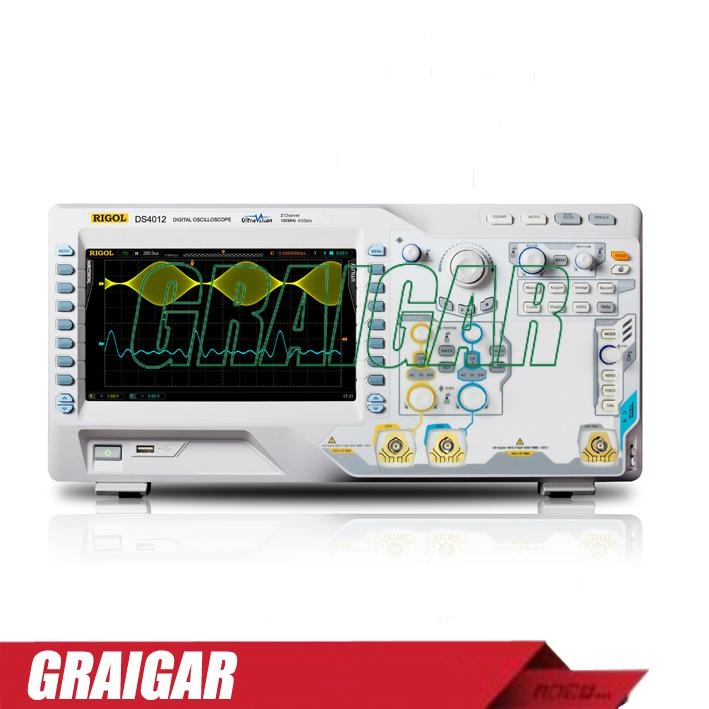 Rigol DS4012 Digital Oscilloscope,100MHz ,2Channels 1