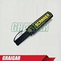 TX-1001B Rechargeable Security Scanner Portable Hand Held Metal Detector