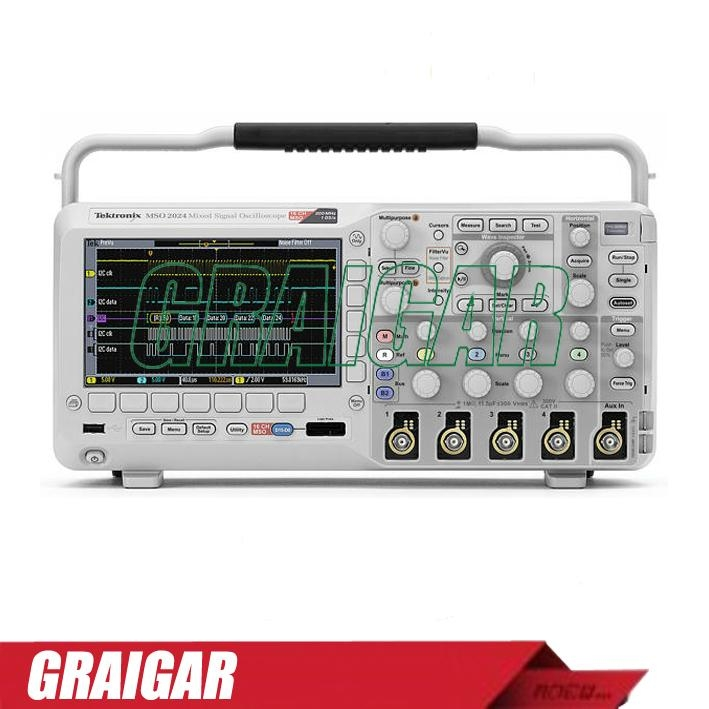 MSO2202A-S digital oscilloscope 200MHz 2 + 16 channels 1