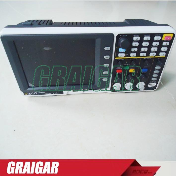OWON MSO8202T  digital oscilloscope  2+1 | LA - 16 200MHz 2GS/s 2