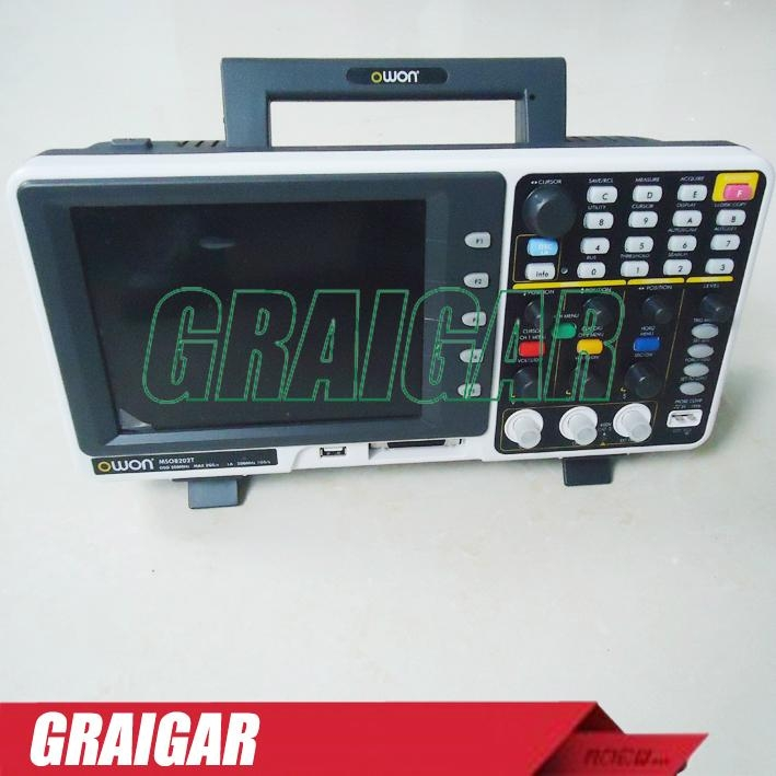 OWON MSO8202T  digital oscilloscope  2+1 | LA - 16 200MHz 2GS/s 3