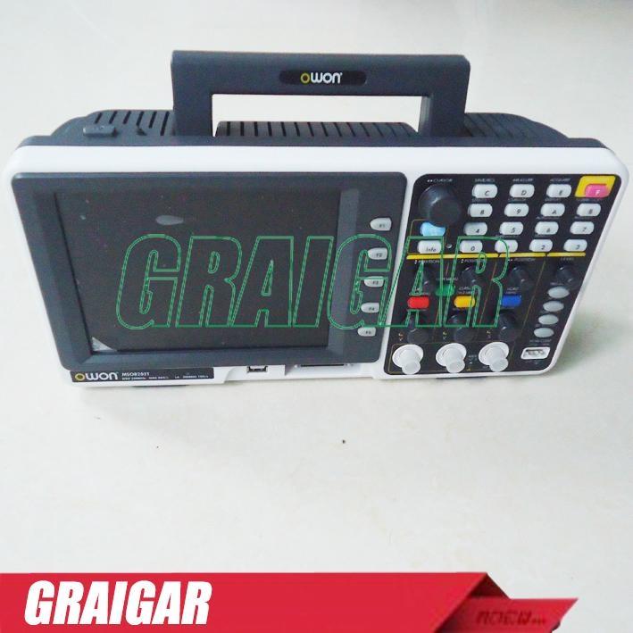 OWON MSO8202T  digital oscilloscope  2+1 | LA - 16 200MHz 2GS/s 1