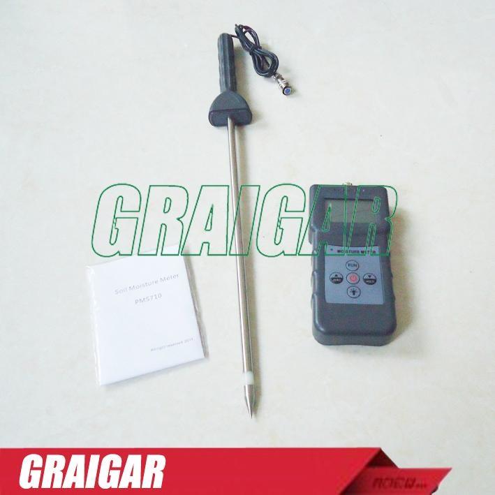 Portable Soil Moisture Meter,Sand Moisture meter,Cement Moisture Meter PMS710 5