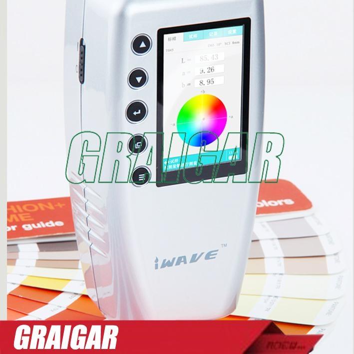WR18 Digital Color Meter Tester Measurement Interval 0.5 Sec 2
