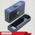 Portable WG60 Gloss Meter Projection Angle 60 degree Measurement Range 0-200Gu 6