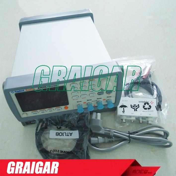 AT510L Micro DC Resistance ohm Meter Tester 1 micro ohm - 30K ohm Accuracy 0.1%  5