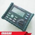 MS5205 Digital Insulation Tester Megger MegOhm Meter DC250/500/1000/2500V AC750V 2