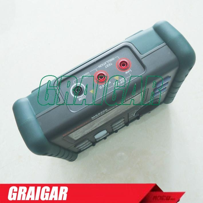 MS5205 Digital Insulation Tester Megger MegOhm Meter DC250/500/1000/2500V AC750V 3