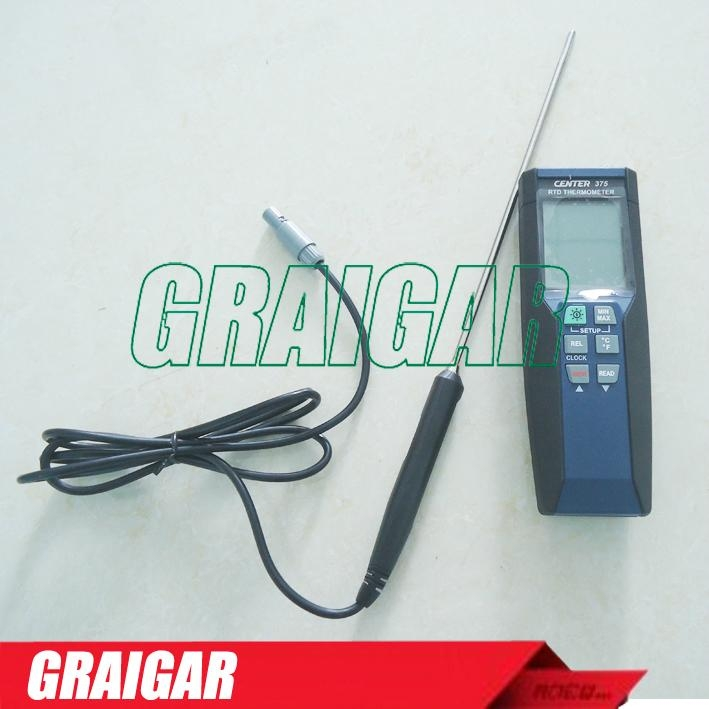 CENTER-375 high precision thermal resistance thermometer  5
