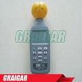 TES-593 EMF Meter Triaxial Data Logger