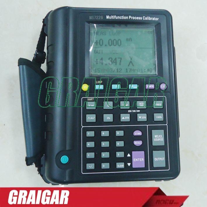 Multifunction RTD&Thermocouple Process Calibrator MS7226 1