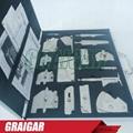 Precise 16 pieces welding measure tools combined suit Welding measure gauge kit  3