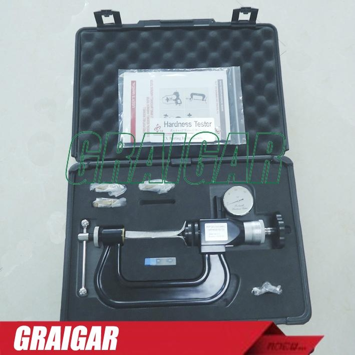 Portable Rockwell Hardness Tester C Clamp small Hardness Meter PHR-4-3 6