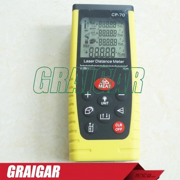 70m Laser Distance Meter Laser Rangefinder Range Finder CP-70 1