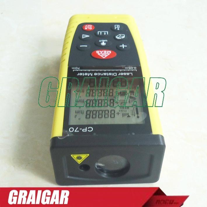70m Laser Distance Meter Laser Rangefinder Range Finder CP-70 2