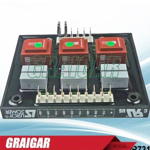 Original generator avr leroy somer r731 automatic voltage on leroy somer single phase wiring diagram Single Phase Installation Single Phase Plug