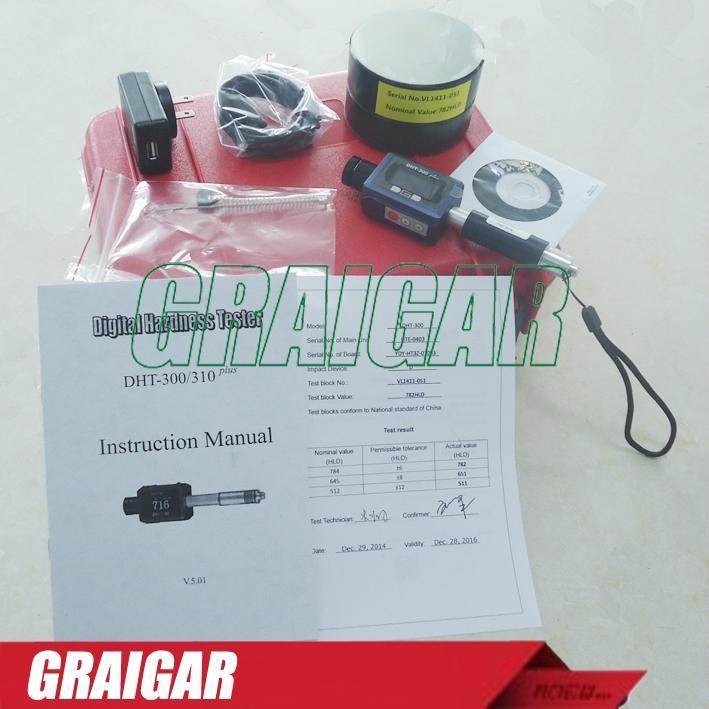 Integration Leeb Hardness Meter DHT-300 portable digital hardness gauge tester 5
