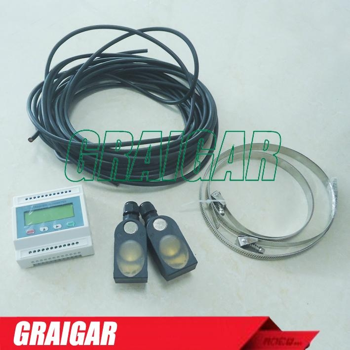 Ultrasonic flow meter TDS-100M DN15-6000mm clamp-on Transducers flowmeter